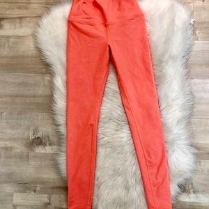 ALO YOGA Neon Orange Leggings XS